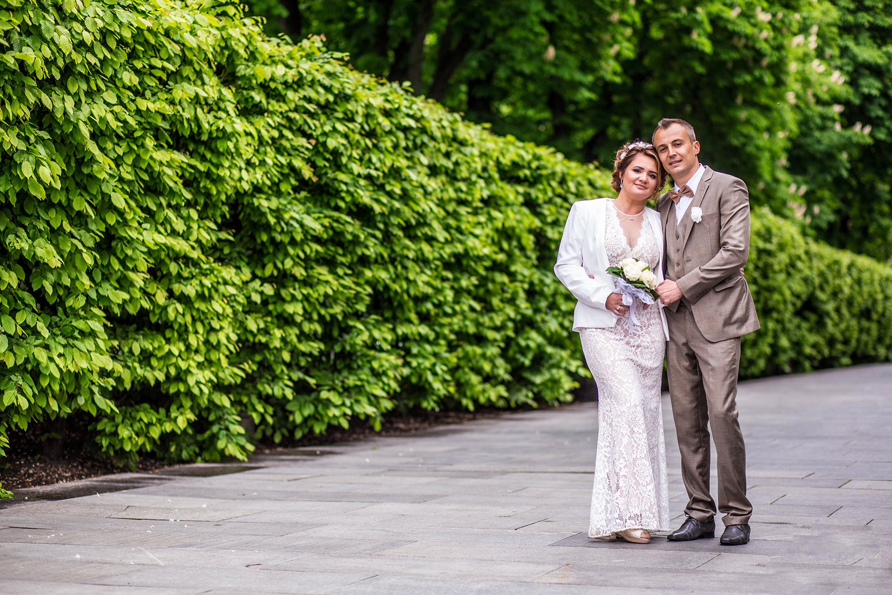 Парк для фото на свадьбу