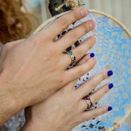 выездная церемония в стиле бохо на берегу реки озера фотограф на свадьбу свадебная фотосессия киев Марина Праздничная