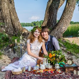Love story бохо пикник досвадебная послесвадебная фотосъемка фотосессия киев фотограф на свадьбу фотосессию марина праздничная