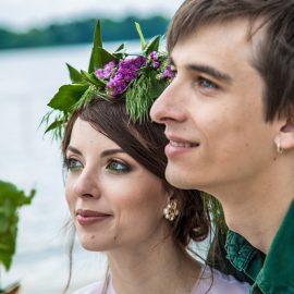 Love story фотограф Киев предсвадебная фотосъемка до свадебная фотосессия бохо у реки на Днепре