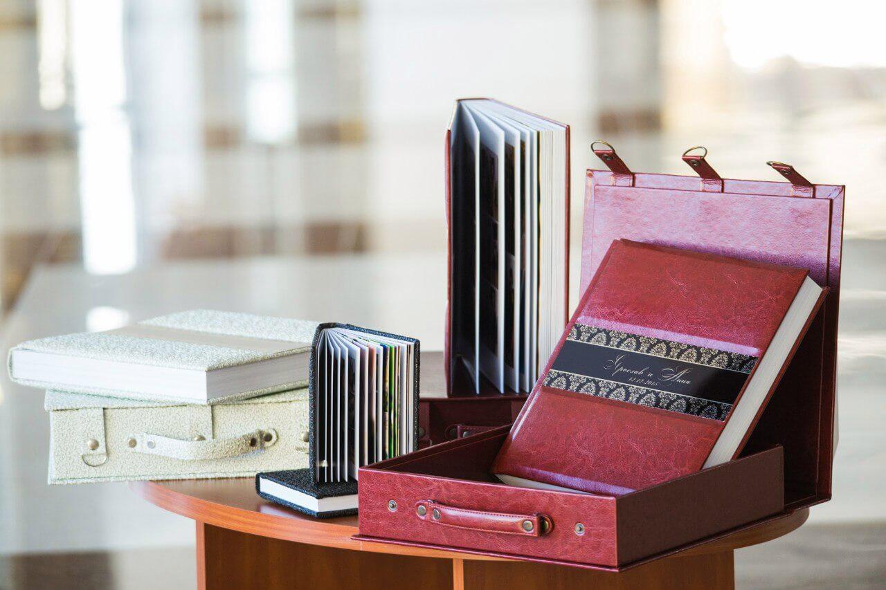 Комплект фотокниг фотоальбом заказать фотограф киев