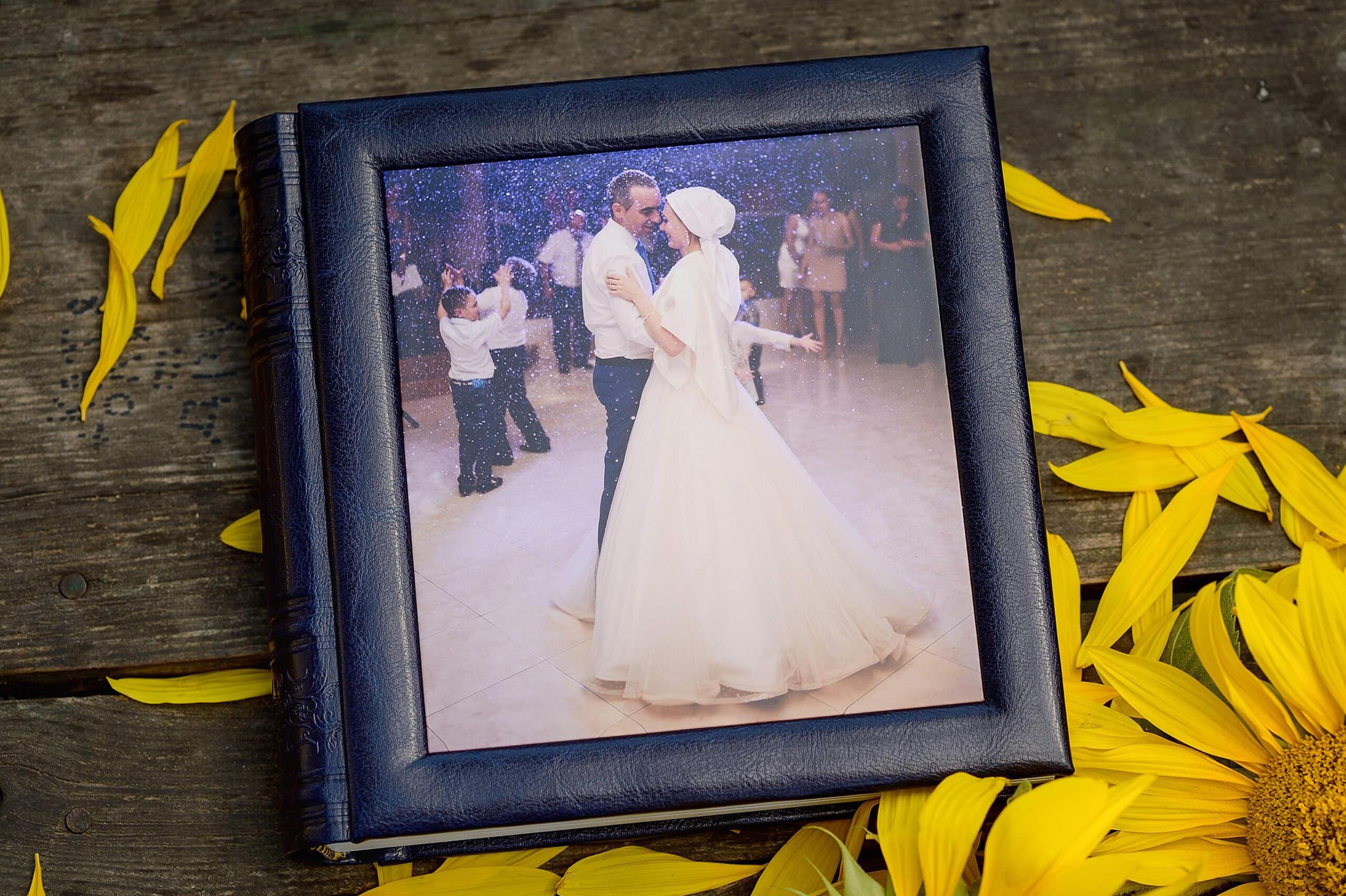 свадьба в синем синяя фотокнига фотоальбом (