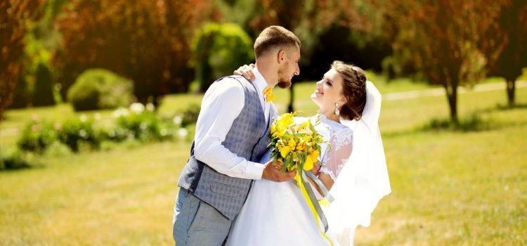 Свадебная фотосессия в парке Феофания