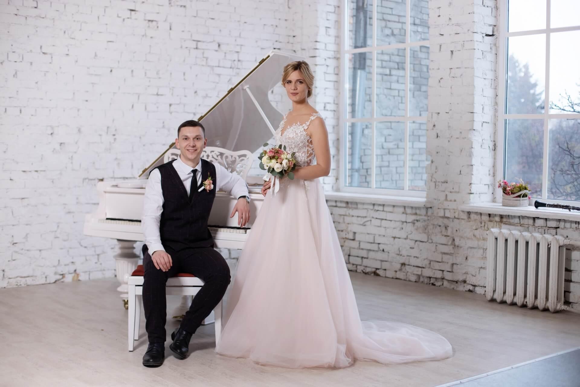студийная свадебная фотосессия Киев фотограф в студию студийный фотограф