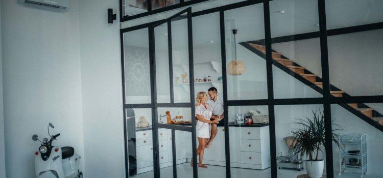 Фотосъемка и видеосъемка Love Story в студии.