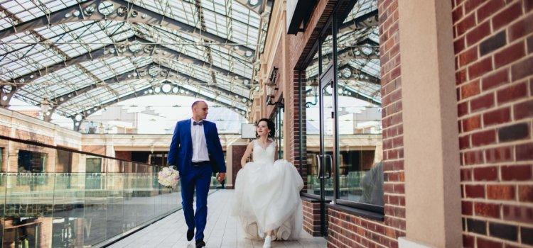 Свадебная фотосессия в Мануфактуре и Феофании